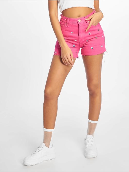 Tommy Jeans shorts Hotpant Denim blauw