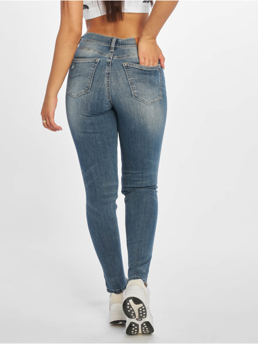 Tommy Jeans Skinny jeans Nora 7/8 Mid Rise blå