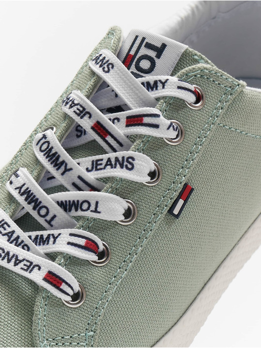 Tommy Jeans Sneakers Casual zielony