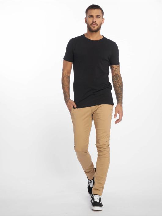 Tommy Jeans Spodnie wizytowe Essential bezowy