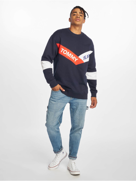 Tommy Jeans Straight Fit Jeans Tapered Carpenter TJ 2003 blau