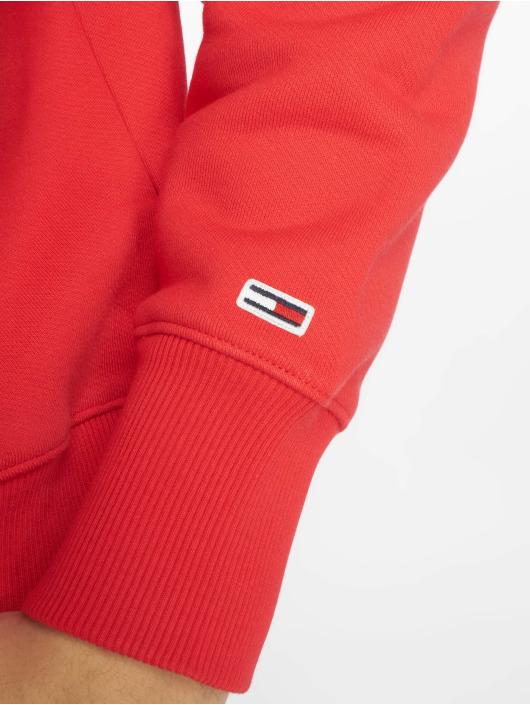 Tommy Jeans Swetry Clean Collegiate czerwony