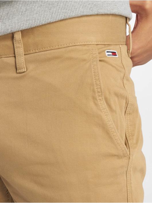 Tommy Jeans Szorty Essential Chino bezowy