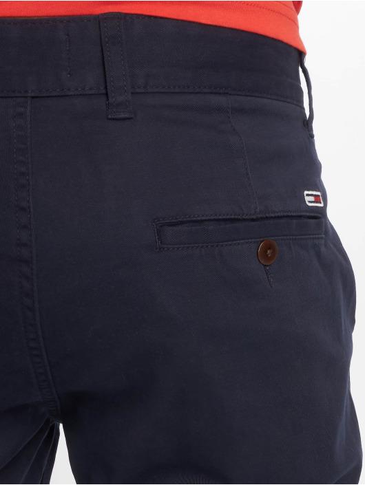 Tommy Jeans Szorty Essential Chino niebieski