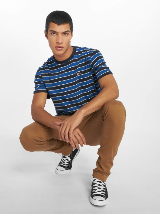 Tommy Jeans T-Shirt Bold Stripe blue