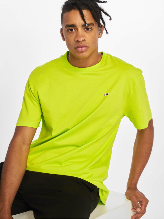 Tommy Jeans T-Shirt Classics grün
