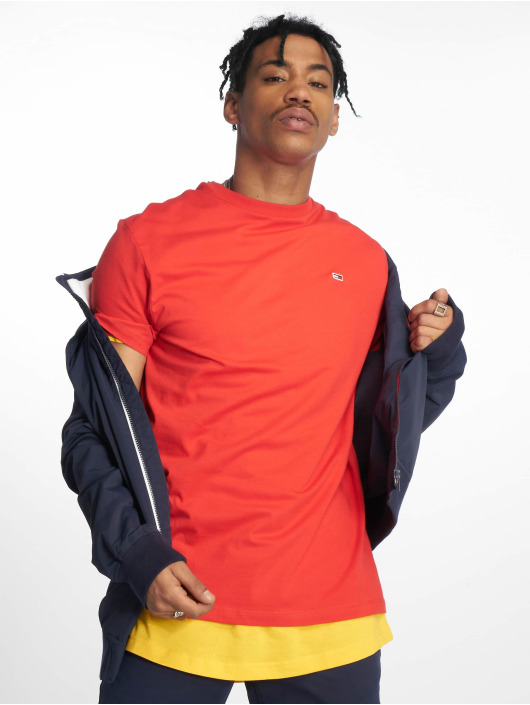 Tommy Jeans T-Shirt Classics rot