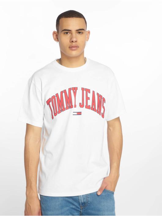 Tommy Jeans T-Shirt Collegiate Logo weiß