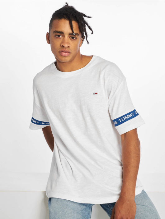 Tommy Jeans T-Shirt Arm Band weiß