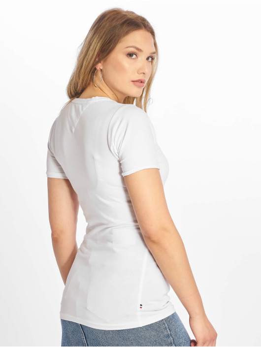 Tommy Jeans T-Shirt Stretch weiß