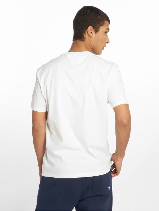 Tommy Jeans T-Shirty Essential Box Logo bialy