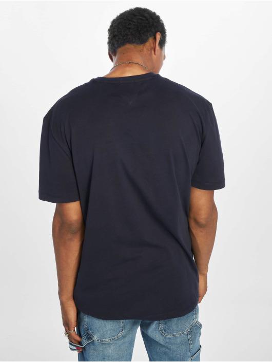 Tommy Jeans T-Shirty Neon Script niebieski