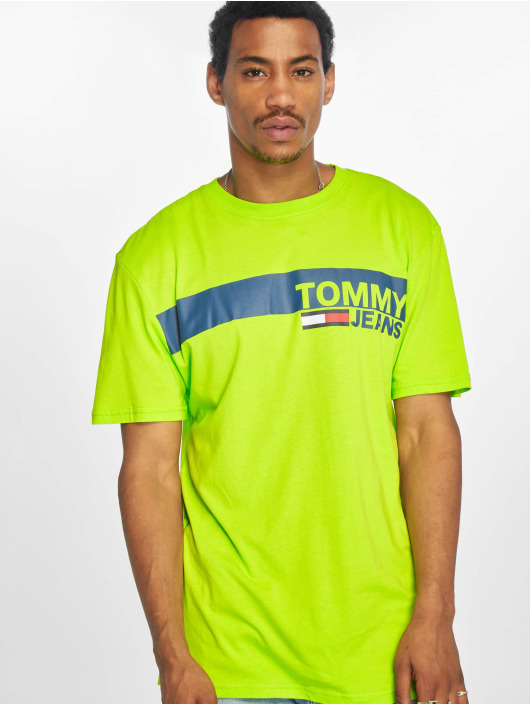 Tommy Jeans T-Shirty Essential zielony