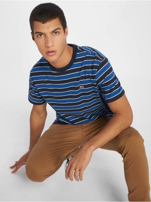Tommy Jeans T-skjorter Bold Stripe blå