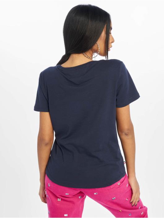 Tommy Jeans T-skjorter Soft Jersey blå
