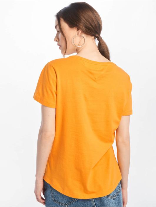Tommy Jeans T-skjorter Jersey gul