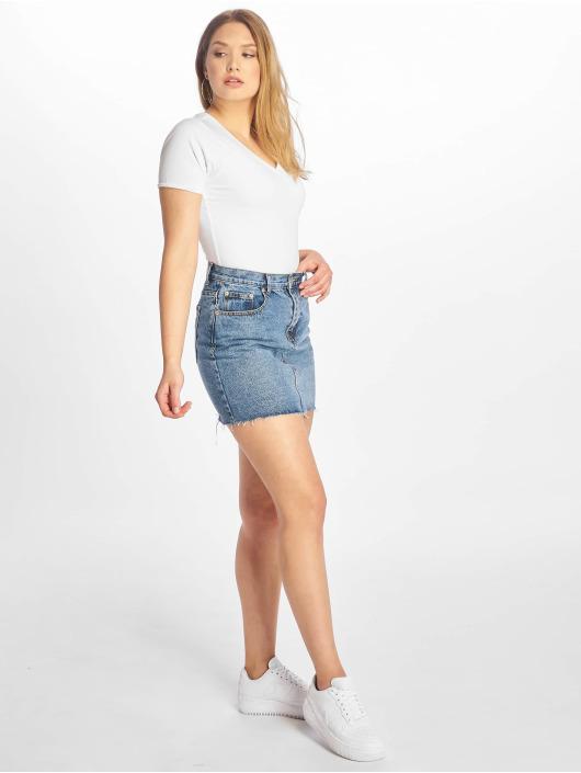 Tommy Jeans T-skjorter Stretch hvit
