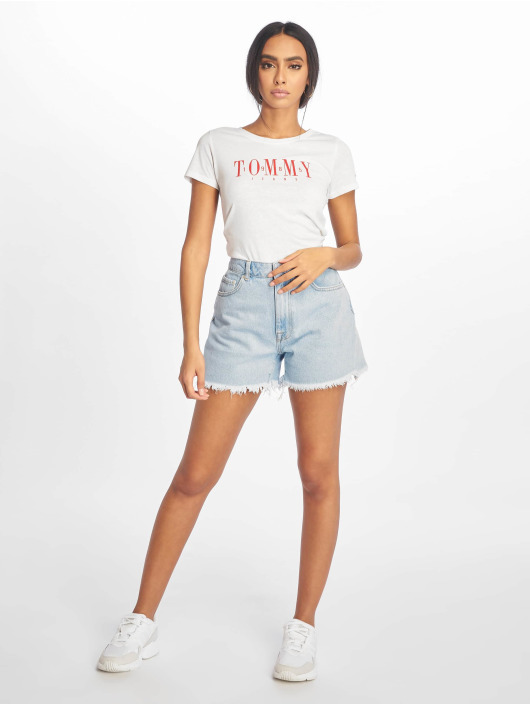 Tommy Jeans T-skjorter Casual hvit
