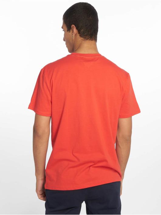 Tommy Jeans Tričká Essential Box Logo èervená