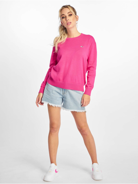 Tommy Jeans Tröja Classics rosa