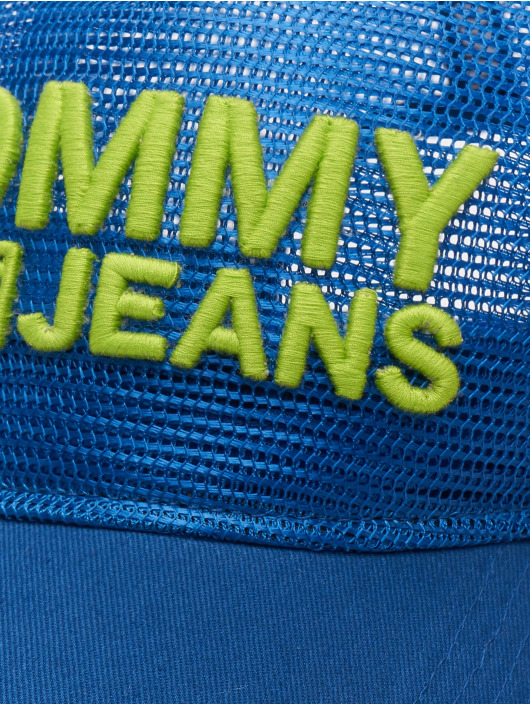 Tommy Jeans Trucker Caps Basic niebieski