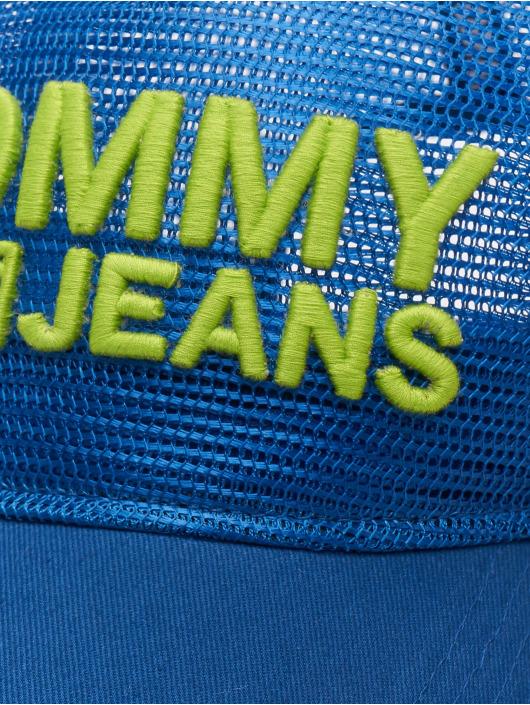 Tommy Jeans Truckerkeps Basic blå