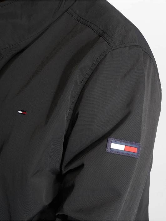 Tommy Jeans Übergangsjacke Essential Casual schwarz