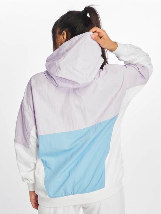 Tommy Jeans Übergangsjacke Retro Colorblock Popover violet