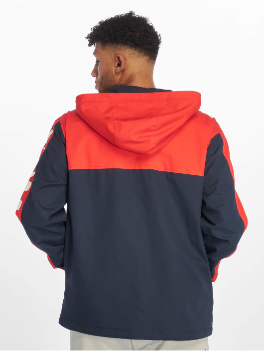 Tommy Jeans Zomerjas Graphic Popover rood