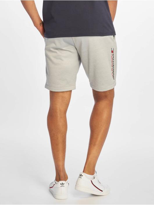 Tommy Sport Šortky Logo Knit šedá