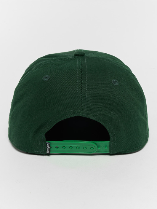 TrueSpin Snapback Cap Rasta green