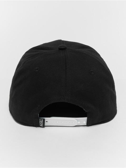 TrueSpin snapback cap Script zwart
