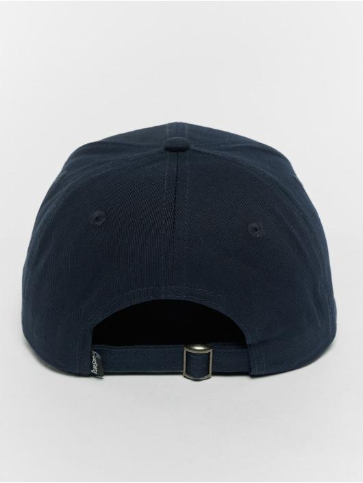 TrueSpin Snapback Caps Curved modrý
