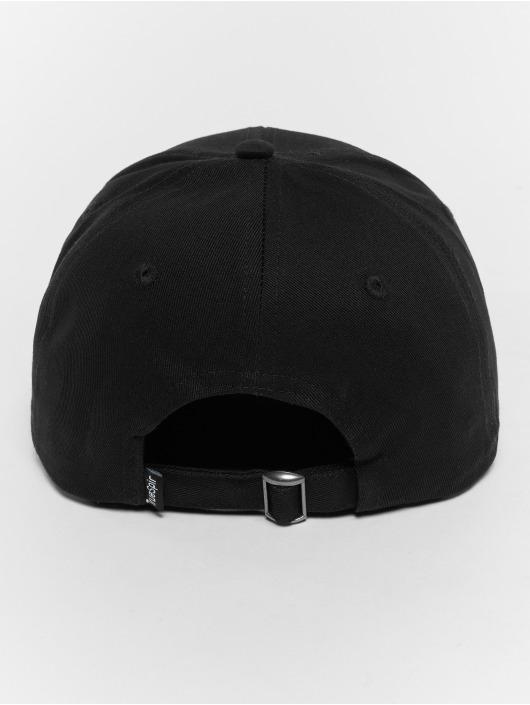 TrueSpin Snapback Caps Curved musta
