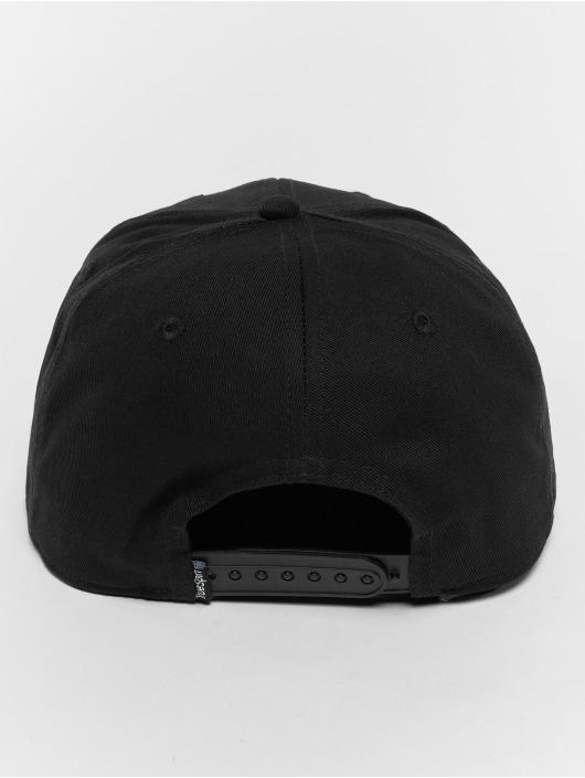 TrueSpin Snapback Caps Rap svart