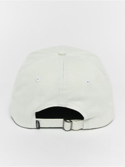 TrueSpin Snapback Caps Mate valkoinen