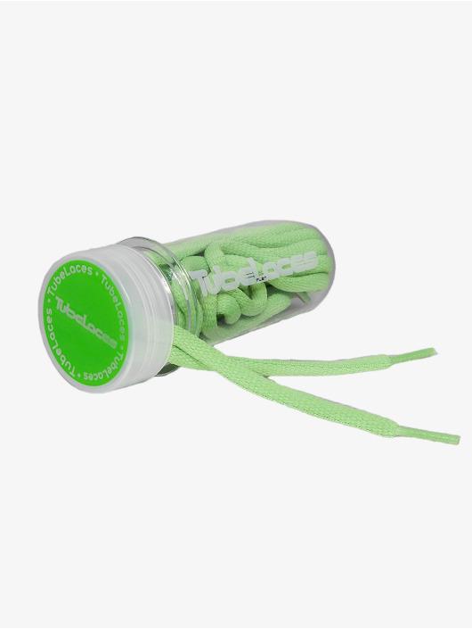 Tubelaces šnúrky Pad Laces 130cm zelená