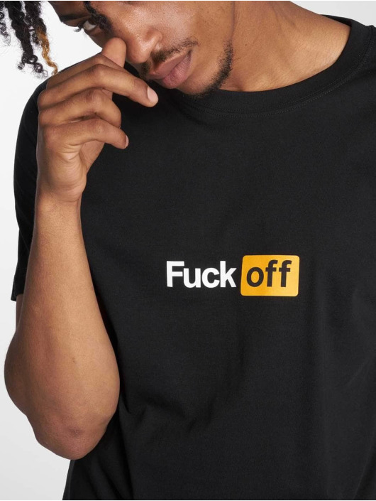 TurnUP T-Shirty Fuck Off czarny
