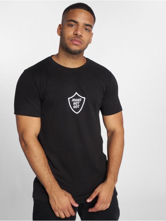 TurnUP T-skjorter Not Hot svart