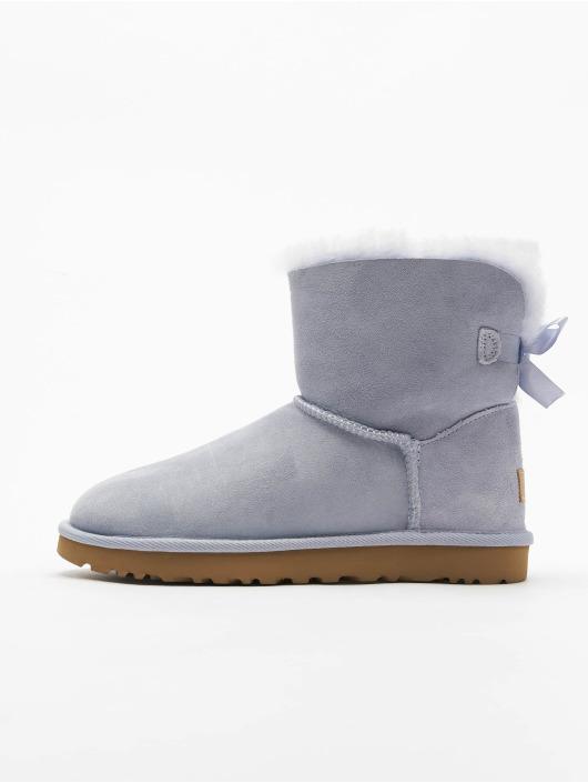 UGG Boots Mini Bailey Bow II blau