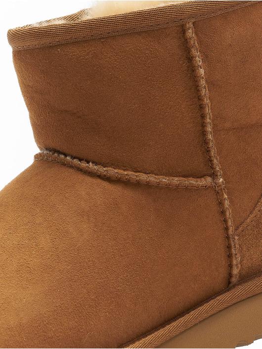 UGG Boots Classic Mini II Graphic Logo brown