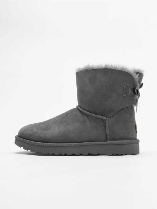UGG Boots Mini Bailey Bow II grau