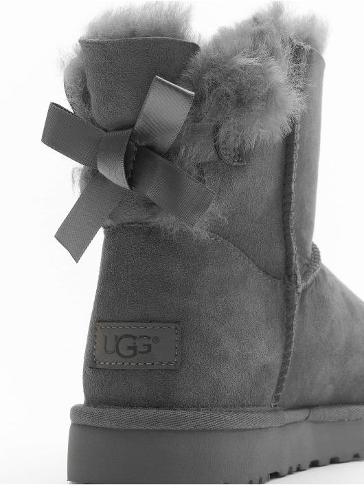 UGG Boots Mini Bailey Bow II gray