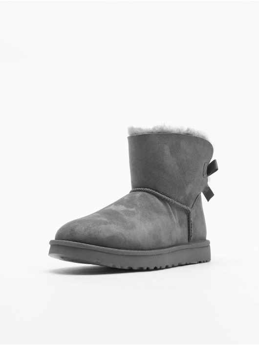 UGG Boots Mini Bailey Bow II grigio