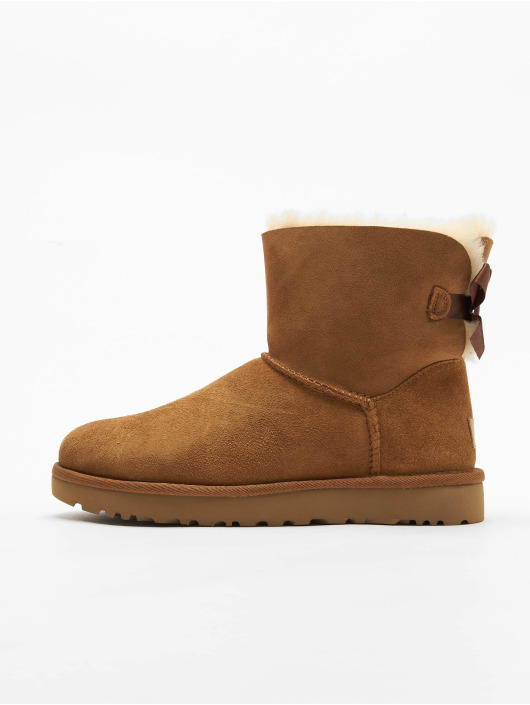 UGG Boots Mini Bailey Bow II marrone