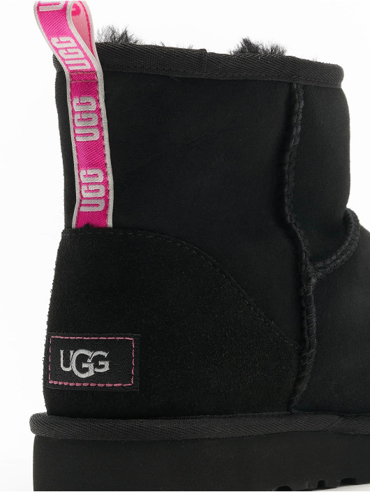 UGG Boots Classic Mini II Graphic Logo zwart