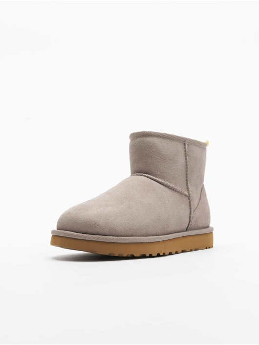 UGG Chaussures montantes Classic Mini II Graphic Logo gris