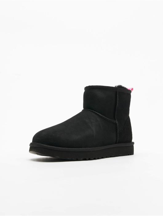 UGG Chaussures montantes Classic Mini II Graphic Logo noir