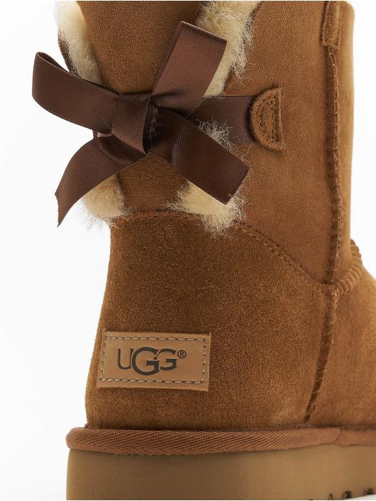 UGG Vapaa-ajan kengät Mini Bailey Bow II ruskea