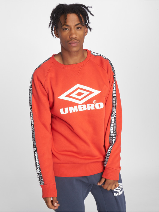 Umbro Пуловер Taped Crew красный